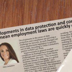 Os recentes desenvolvimentos nas áreas da proteção de dados e compliance podem tornar as leis laborais rapidamente desatualizadas