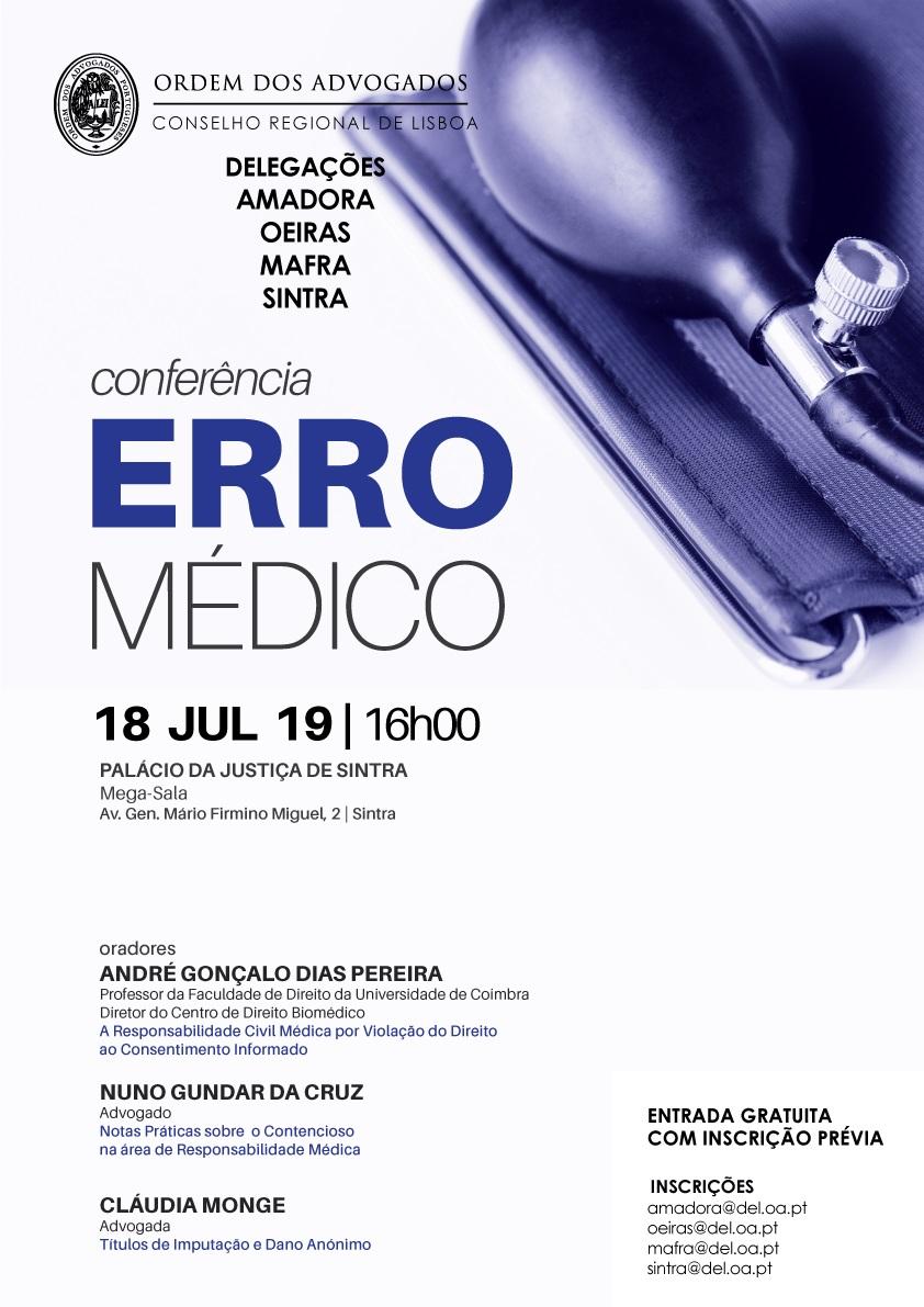 Conferências sobre Erro Médico | Programa